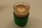 ... so, if you like a proper cup, bring your own (in this case, my Frank Green 8oz SmartCup).