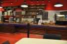 Another view of the counter, this time from my table.