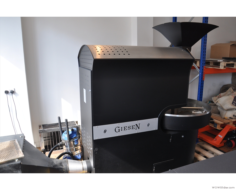 ... leaving this shiny, new Gieson as the sole roaster.