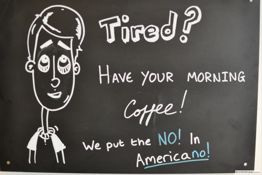 I think that Coffee Aroma might not like Americano you know... Can't say I disagree...