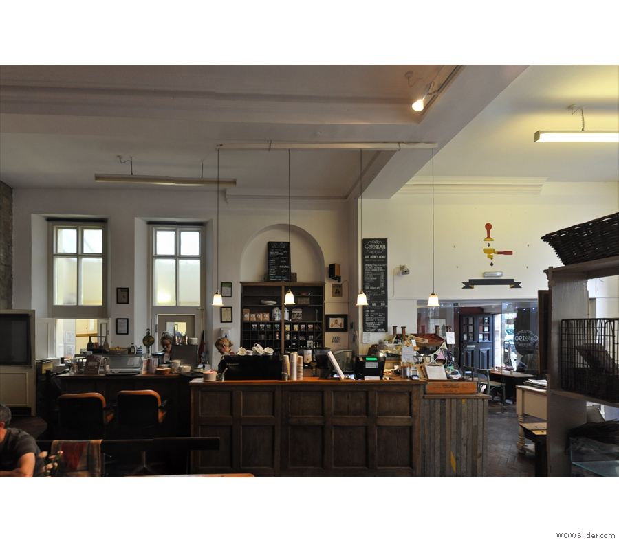 The Coffee Spot's 3rd year was rounded off with another long-overdue return, this time to Newcastle, visiting old friends such as Flat Caps Coffee & making new ones like Cafe 1901.