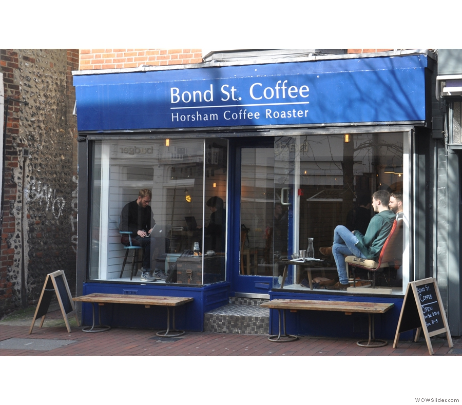 April, and back in the UK, there was a long-overdue return to Brighton, calling in on the likes of Small Batch, Ground, Mr Wolfe, Cafe Coho & the wonderful Bond Street Coffee.