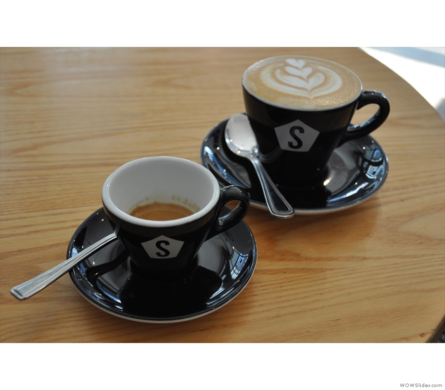 The Coffee Spot's third year got underway with a visit to the amazing Strangers Coffee House in Norwich, winner of the Coffee Spot's Best Espresso Award for 2014.