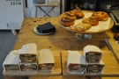 Darkroom also has cake and a choice of (two) sandwiches: one meat, one vegetarian.