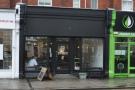 Darkroom Espresso on Swindon's Faringdon Road, looking, from the outside, very dark.