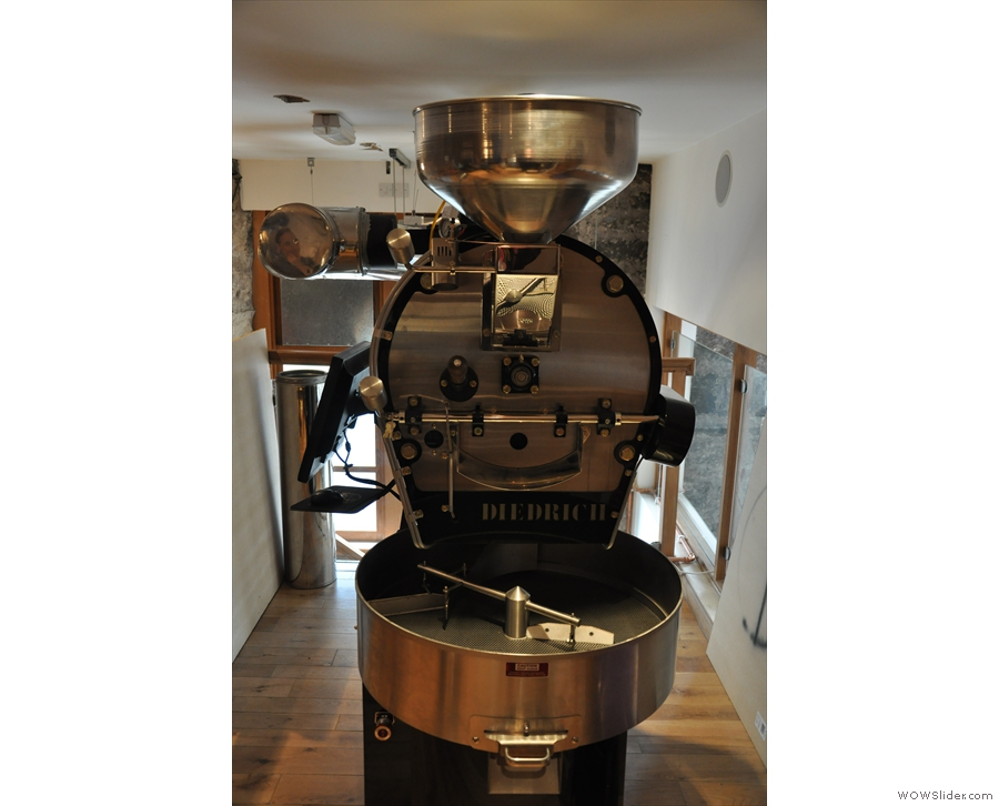 On the roasting side, there's Avenue Coffee, the roasting offshoot of Avenue G Cafes...
