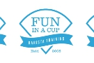 ... and coffee trainers, Fun in a Cup.