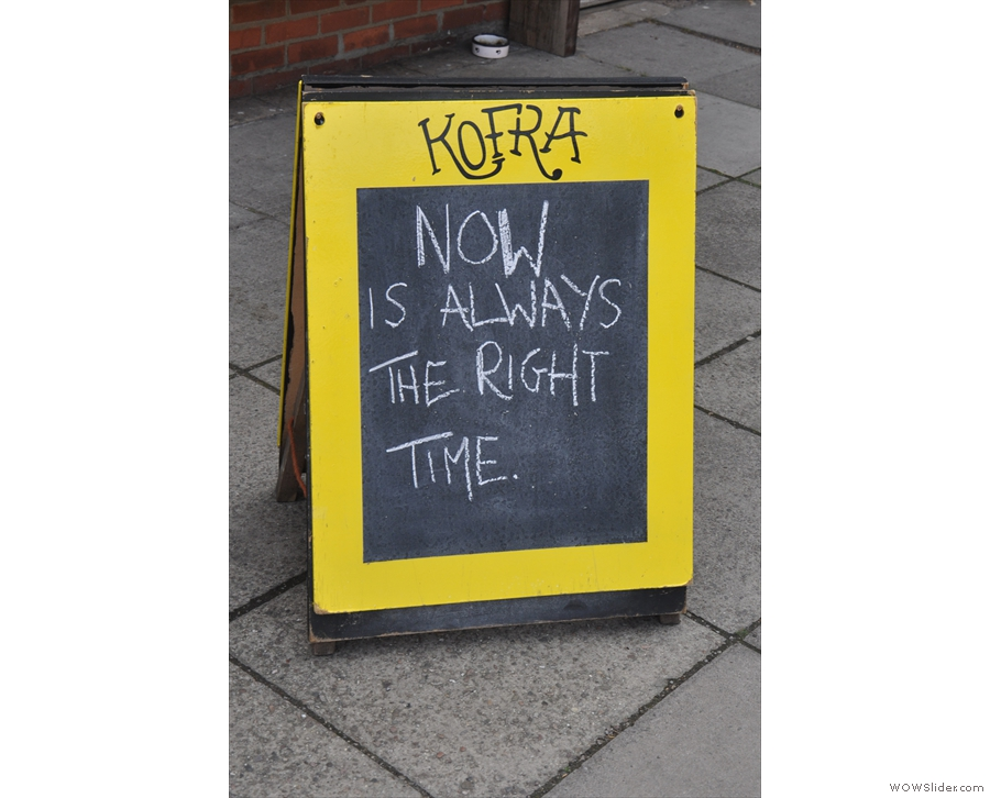 The A-board: can't argue with that.