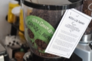 The house-espresso is Caffènation's Mister Little Green Bag (LGB) seasonal blend.