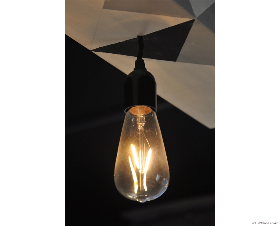 The light-bulbs also come in various shapes and sizes...