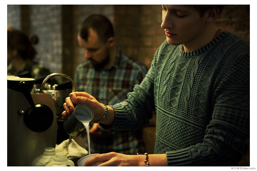 Some of the Exhibitors Who Will Be At The London Coffee Festival: Kaffeine