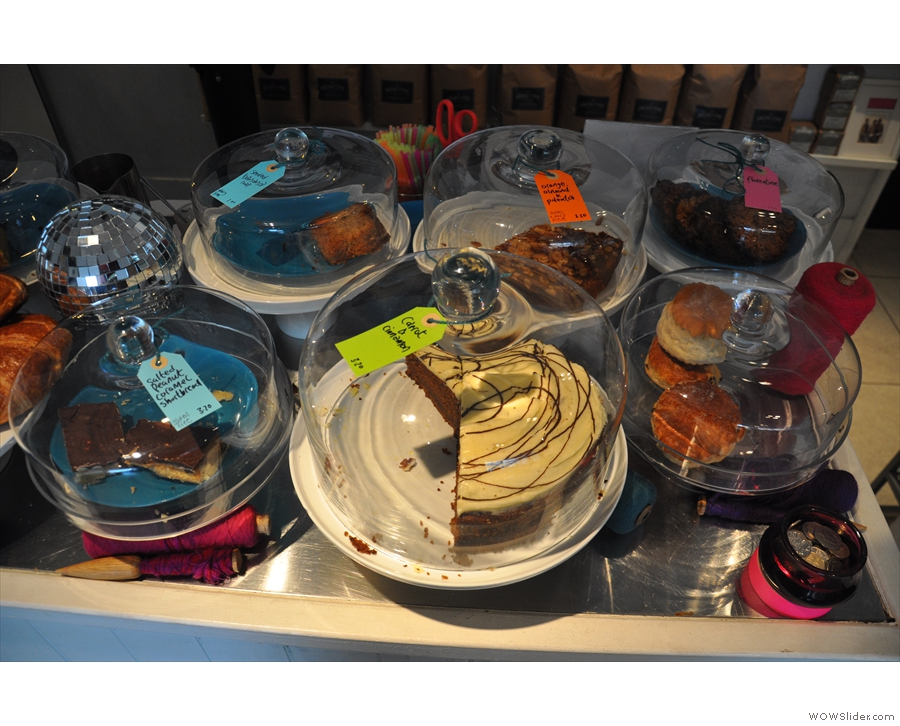 More of the cakes.