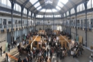 You can also get up to the balcony that runs all the way around the Briggait.