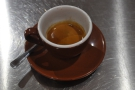 I also tried the Skyscaper espresso as a straight espresso. It was lovely.