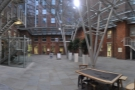 What courtyard? This courtyard, the magnificent space between the Old & New Mills...
