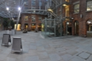 The view back towards Ancoats from the other side of the courtyard.