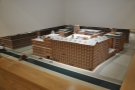 It's hard to get a shot of the whole building, but just inside is this handy model.