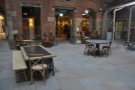 Back to the courtyard, looking in the same direction. You could argue it has the best seating.