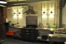 There's also a fully kitted-out kitchen at the back of the counter area behind the roaster...