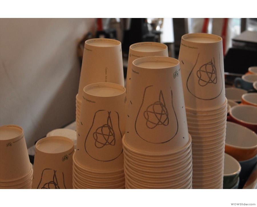 Nice takeaway cups.