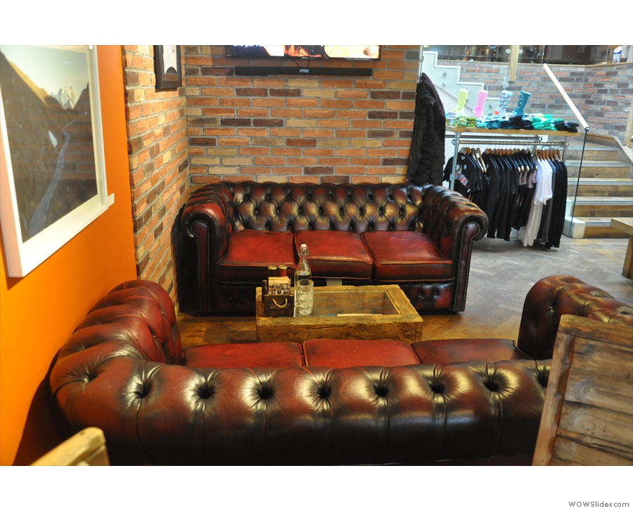 ... starting with this lovely pair of sofas on the left...