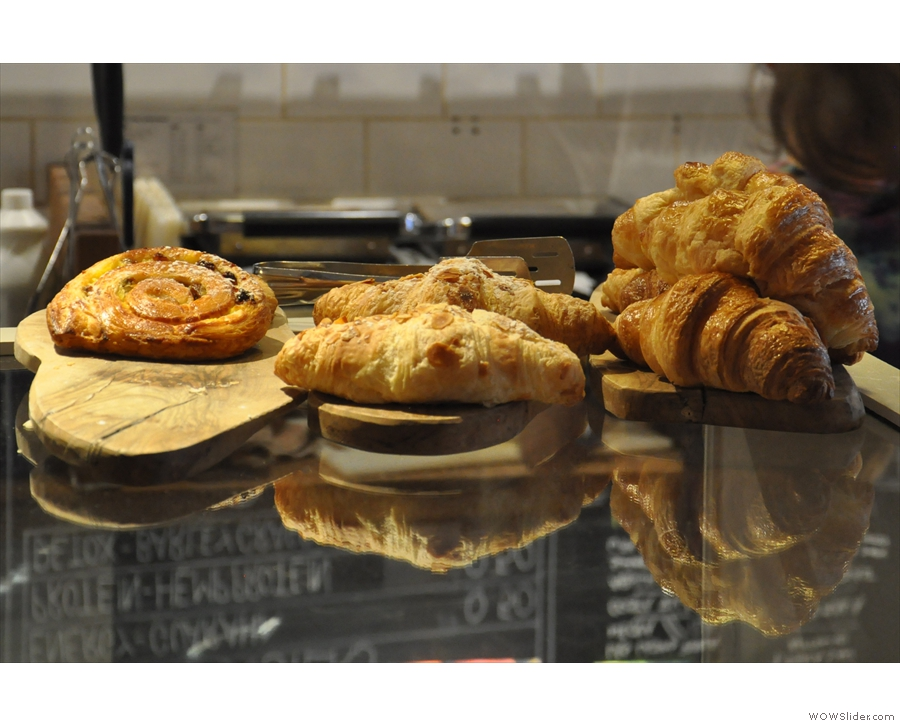 ... along with these pastries and their reflections.