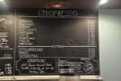 And finally, the espresso menu...