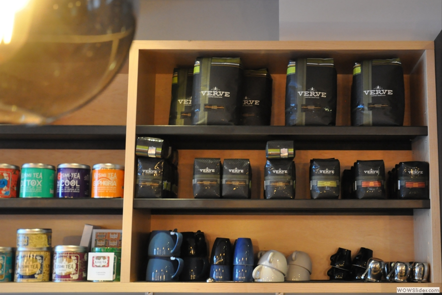 I wonder where Cafe Plume gets its coffee from...?