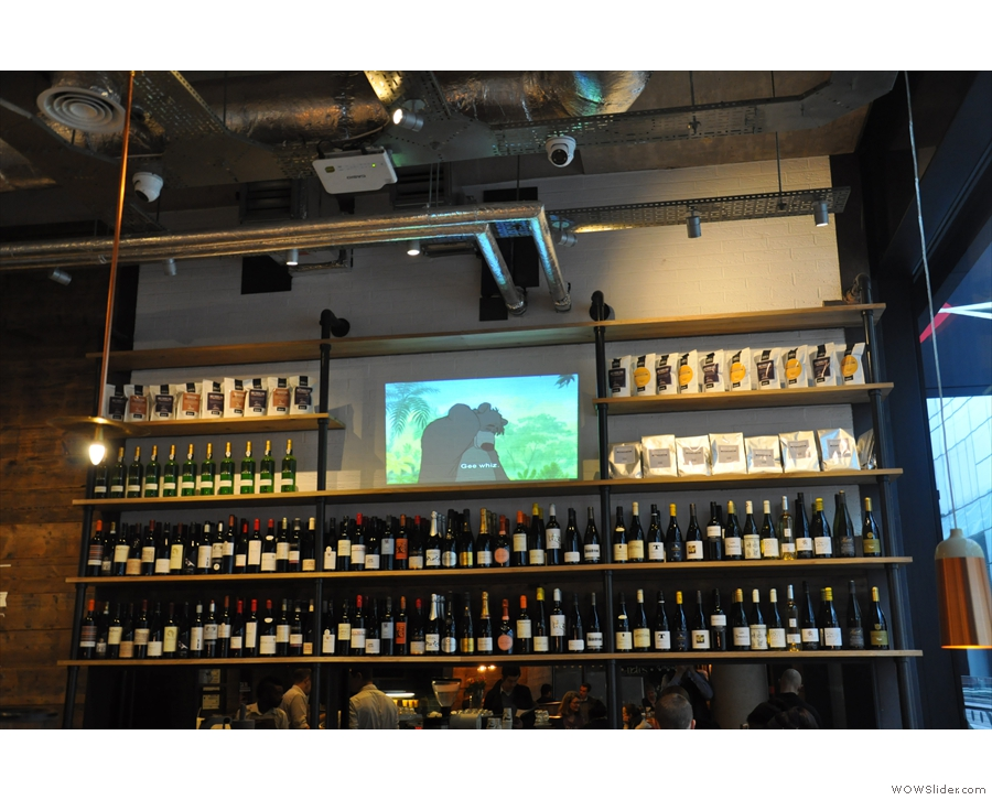 ... with a particular emphasis on the wine. Although the Jungle Book was a bit incongruous!