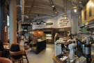 A panoramic view from the far end of Notes, looking back towards the door.
