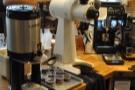If you don't fancy espresso, there's bulk brew, made regularly in small quantities.