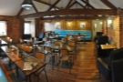 A panoramic view of the even more gorgeous top floor.