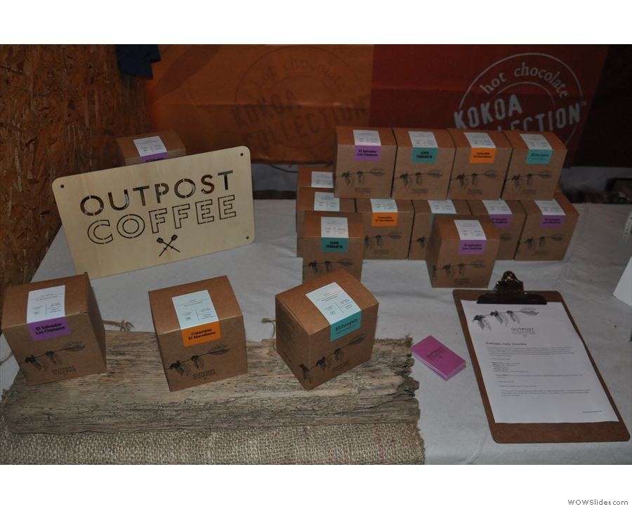 Why, it's none other than Greg of Outpost Coffee Roasters... Hmmm... Coffee!