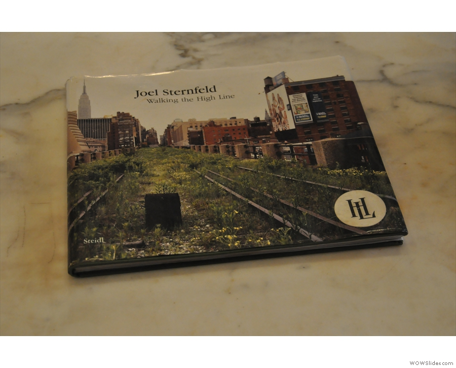 Meanwhile, this is definitely a guidebook to the nearby High Line.