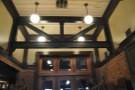 I loved the ceiling beams (and the high ceilings in general).