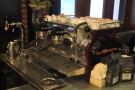The La Marzocco Strada espresso machine...