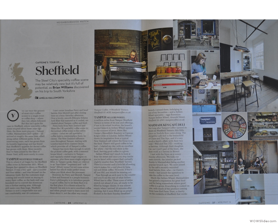 The fantastic photography continues as Amelia's pictures grace my article on Sheffield.