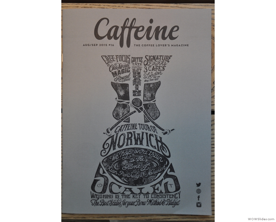 Issue 16: Caffeine Magazine goes abstact for the first time since Issue 4.