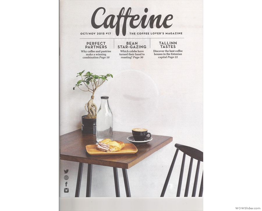 Issue 17: Caffeine Magazine examines that age-old pairing of coffee and pastries.