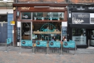 Nottingham's Wired Café Bar, on the slightly-sloping Pelham Street.