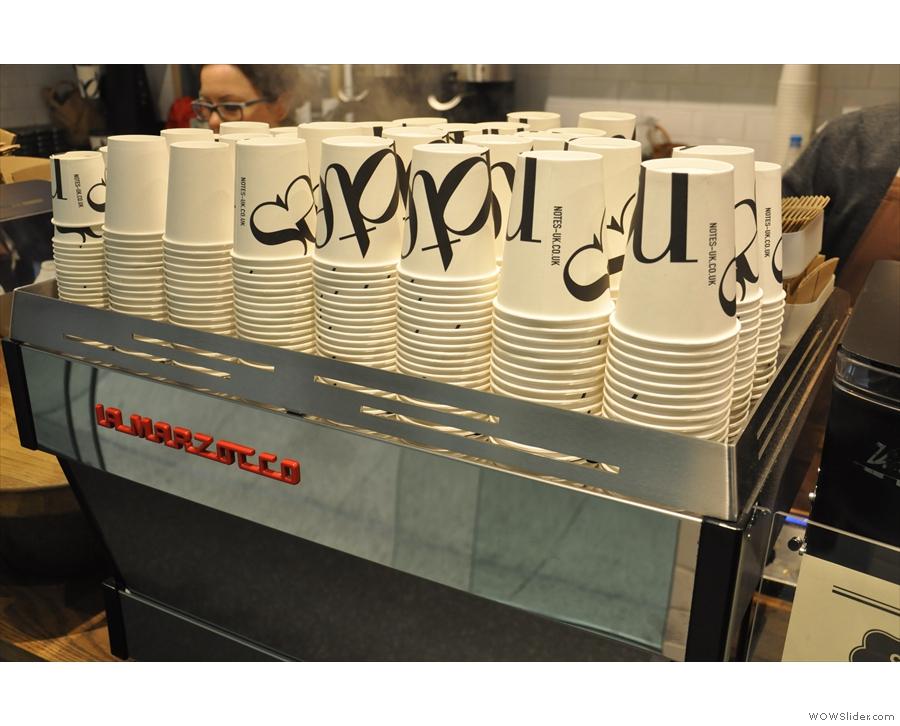 Nice takeaway cups...