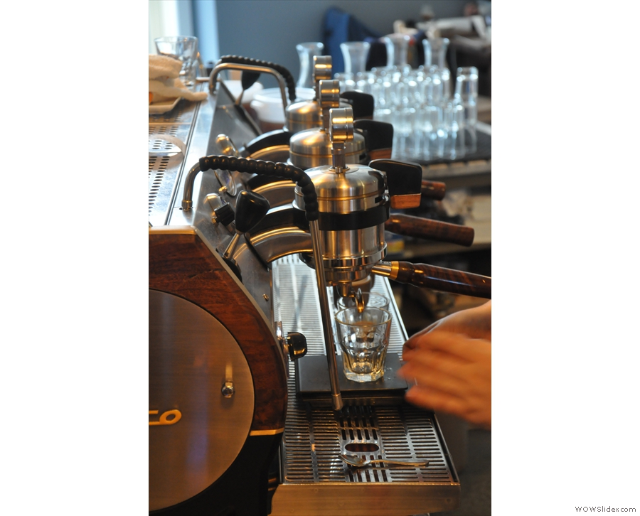 When I was there, the Strada was being pressed into action.