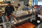 I returned for espresso. As well as this La Marzocco Strada, Slipstream also has...