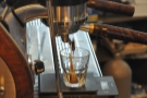 As regular readers will know, I love watching espresso extract when I get the chance.