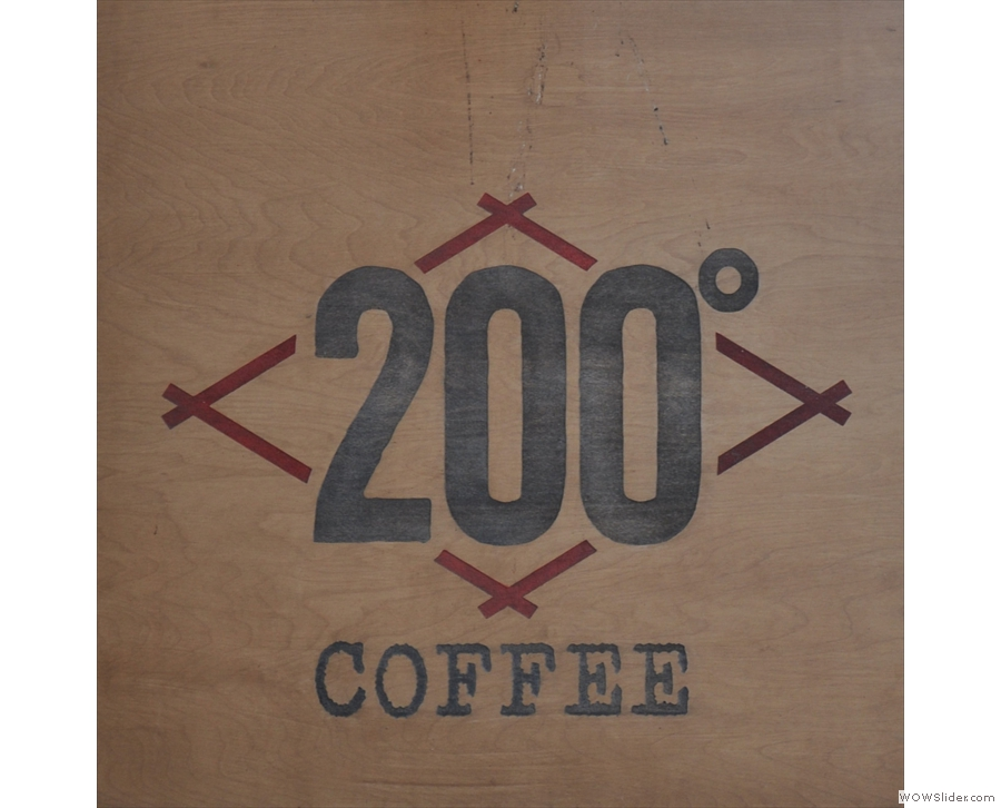 200 Degrees Coffee Shop in a lovely old building in the heart of Nottingham.