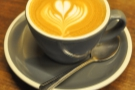 Another lovely flat white, this time from Bluestone Lane in Manhattan, a rare find!