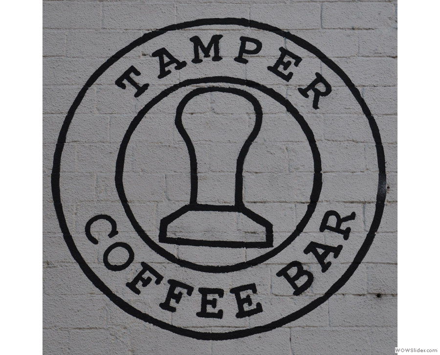 Sheffield's Tamper Coffee in Sellers Wheel is a lovely setting for a coffee shop.