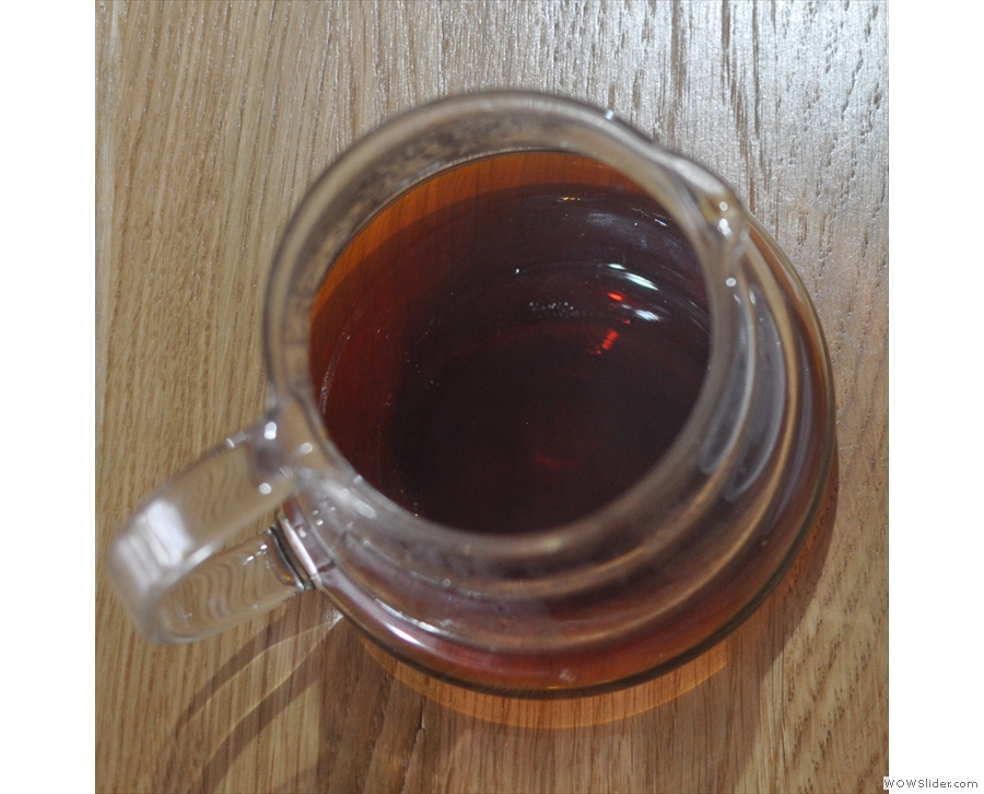 BLK Coffee in Heaton, where I had a V60 of Workshop's Ethiopian Kayamo