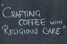 Saint Espresso, where I had a V60 of an Ethiopian Negosho from James Gourmet Coffee.