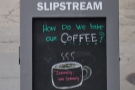 Slipstream, where I had a Las Serranias single-origin from Colombia roasted by Madcap.